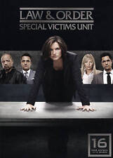Law & Order Special Victims Unit Sixteenth Season Year 16 (DVD 2015 5-Disc Set)