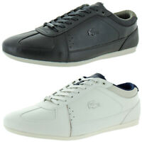 Lacoste Men's Evara 318 2 Leather Classic Low Top Court Fashion Sneaker