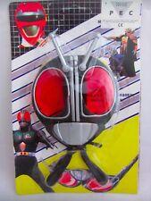 Vintage Kamen Masked Rider Conjunto de Máscara Gafas De Sol Juguete Sellado Bootleg KO juguetes Cosplay