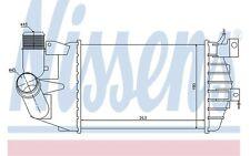 NISSENS Radiador de aire admisión OPEL ASTRA ZAFIRA VAUXHALL ASTRAVAN 96587