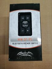 WET SOUNDS® WW-BT-RS BLUETOOTH MARINE ROCKER SWITCH CONTROLLER/RECEIVER (WWBTRS)