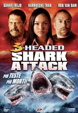 3 HEADED - SHARK ATTACK - DVD - ASYLUM PRODUCTION