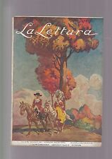 LA LETTURA N.10 1921 il Cervino in affitto Le case degli Alighieri
