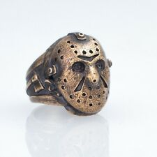Friday the 13th Ring, bronze, handmade ... Jason Voorhees Mask