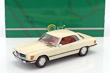 Cult Models 1973 350 SLC (W107) White 1:18*New Item! *NICE SLC!!