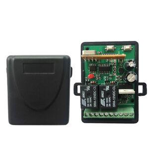 RICEVENTE 12V-24V AC DC Codice di apprendimento codice fisso e ricevitore Rollin