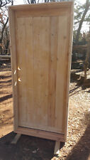 "New 36"" x 80"" Custom, Rustic Style, Solid Wood Entry Door ☆ Free Shipping!"