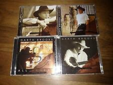 Lot of 4 Garth Brooks:  3 CD's + 1 DVD: Limited Series, Sevens, All Access MINT