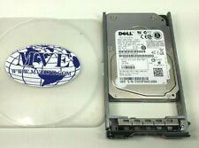 LOT 8 146GB DELL 0K532N K532N MBE2147RC 15K RPM SAS HARD DRIVE W/ CADDY