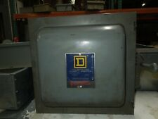 Square D 82342 E1 60A 3P 600VAC Double Throw Not Fusible Manual Transfer Switch