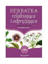 Herbal Tea Relaxing  - 20 twice bigger sachets 5g each - Franciscan Herbs