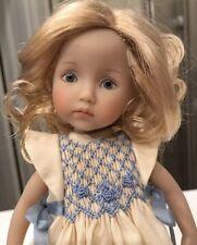 "10"" Doll Boneka Dianna Effner Monday & Tuesdays Child Smocked Dress 24cm"