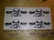 "(4)  MINI FLAT TRACK  ""XR 1200"" RACING DECALS"