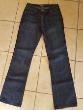 JACQUI E Sz 8 jeans Bootcut classic rise Stretch Blue denim