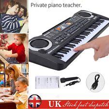 Quality 61 Key Digital Electronic Keyboard & Microphone Electric LED Piano Organ