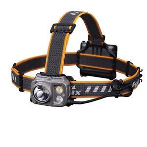 Fenix HP16R Headtorch, Rechargeable, 1700 Lumens, Walking, Camping