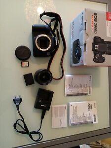 Canon EOS 2000d + fondina Canon + SD