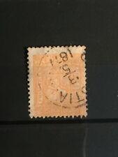 SCOTT #12 1867-68 NORWAY STAMP USED