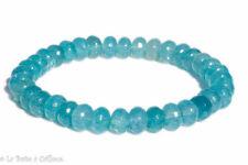 Bracelet cyanite ou disthène (perles facettées 5 x 8mm)