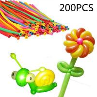 200 X Magic Modellierballons Bunte Luftballons Ballons Deko Ballon 260Q Ornament