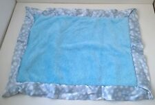 Comfort Silkie Blue Baby Boy Satin Flannel Security Blanket Lovey