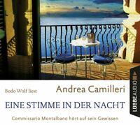ANDREA CAMILLERI - EINE STIMME IN DER NACHT  4 CD NEU