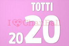 Totti #20 EURO 2000 Italy Homekit Nameset Printing