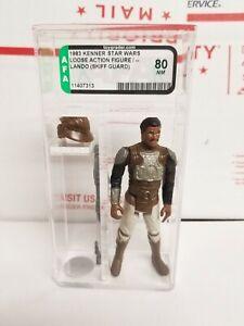 Vintage Kenner Star Wars Lando Skiff Guard No COO 1983 AFA 80 Near Mint