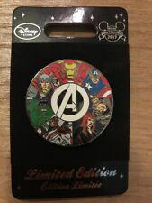 Pin Avengers Iron Man Captain America UK Disney Store Disneyland Paris DLP