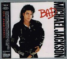 "Michael Jackson ""Bad"" Japan CD w/OBI EICP-23"