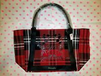 NWT Victoria's Secret Limited Edition 2020 Black Friday Red Plaid Tote Bag