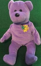 "POKEMON Christmas ""PIKACHU"" 2000 Lavender TEDDY BEAR Bean Bag Plush Toy 8"" GO!"