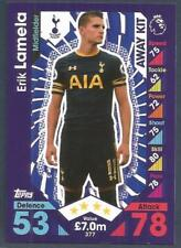 TOPPS MATCH ATTAX 2016-17- #377-TOTTENHAM HOTSPUR-ERIK LAMELA-AWAY KIT