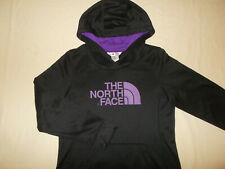 THE NORTH FACE BLACK HOODED SWEATSHIRT WOMENS MEDIUM EXCELLENT CONDITION