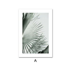 Nature Green Leaf Poster Nordic Print Botanical Wall Art Picture Modern Decor