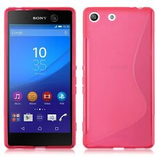 S-line Wave Silicone Gel Back Case Cover For Various Sony Xperia Mobile Phones