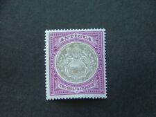 Antigua 1903 2/6 grey-black & purple SG39 MM