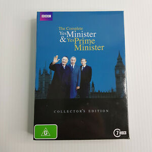 The Complete Yes Minister & Yes Prime Minister Collector's Edition DVD