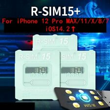 Neueste R-SIM15+ Nano Unlock RSIM Karte für iPhone 12 Pro MAX/11/X/8/7 iOS14.2↑