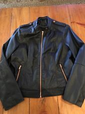 Faux (fake) Women's Leather Jacket XL
