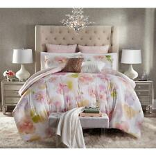 Jaclyn Smith California Dream Floral Blush Coral 5-Pc Comforter Set F/Q or King