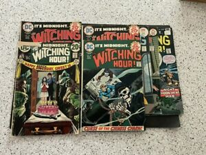 The Witching Hour lot of 7 comics: #25,45,48,49,56,68,82
