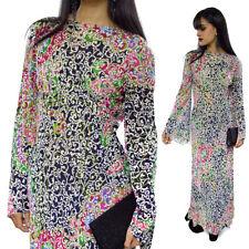 Vintage 70s Pauline Trigère Rhinestones Embellished Gown Formal Trigere Dress
