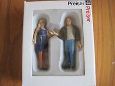 Preiser Figurines / 45115 Passengers / 2 Pc Set New In Box - G Scale