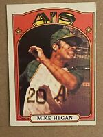 Topps 1972 #632 Mike Hegan - Oakland A's