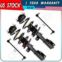 Front Struts Assemblies & Sway Bar Links Kit 4 Piece For Buick Chevy  GMC Saturn