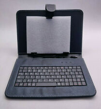 "Tablet Case w/ Integrated Micro USB Keyboard - Fits 10"" Screens, 5-6.25"" Width"