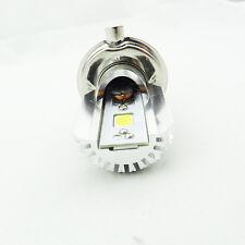12W Motorcycle LED headlight H4 Hi/Lo 6000K xenon white COB motorbike Light Bulb