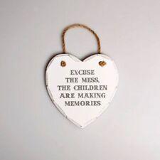 Heart Vintage/Retro Decorative Door Signs/Plaques