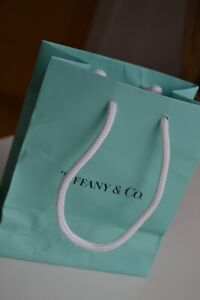 TIFFANY & CO. small Gift / Store Bag  Used once
